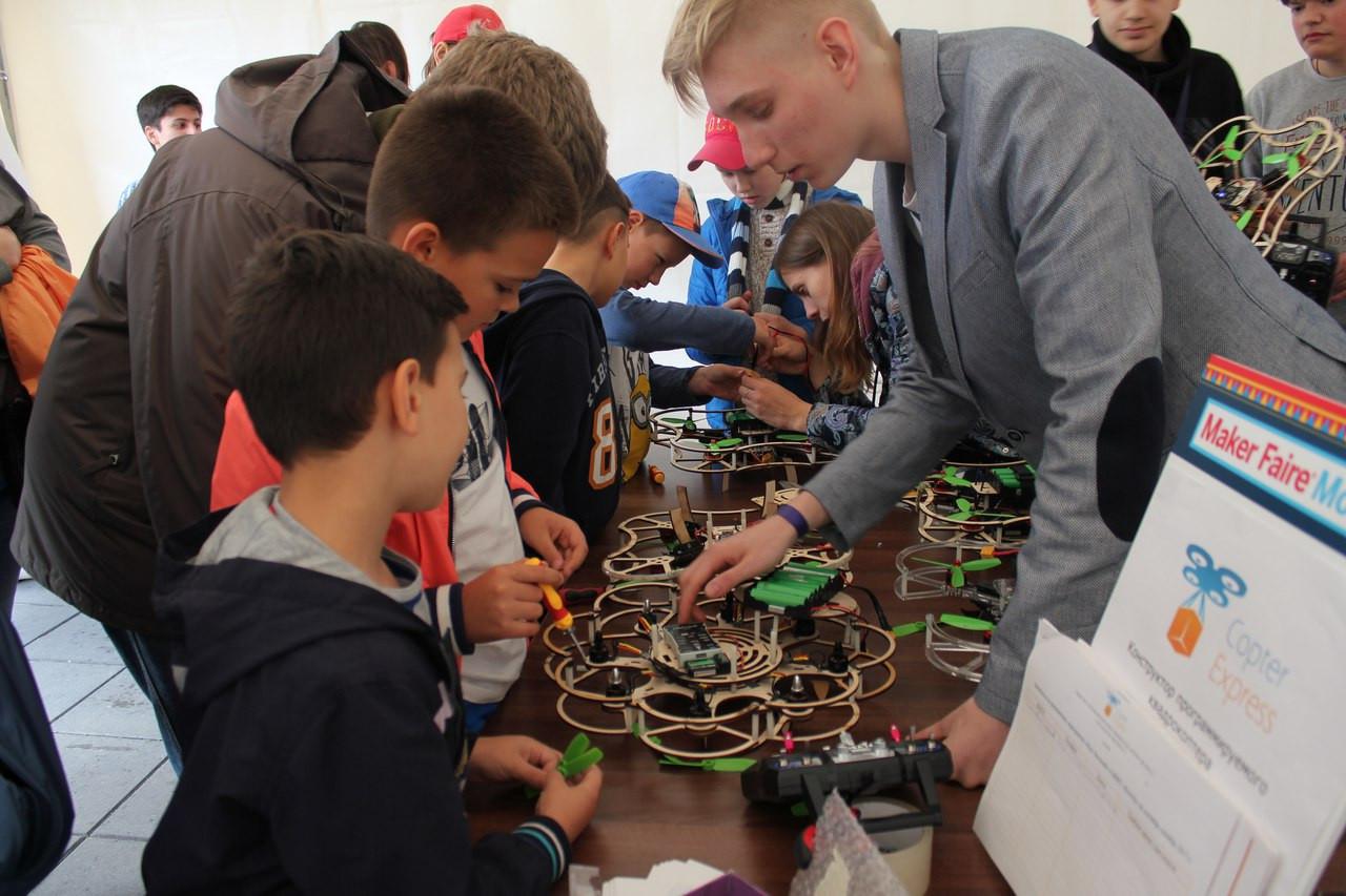 """Фестиваль """"Maker Faire"""" - фото 15"""