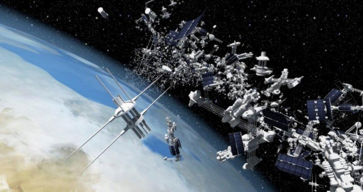 США на первом месте по количеству произведенного мусора в космосе