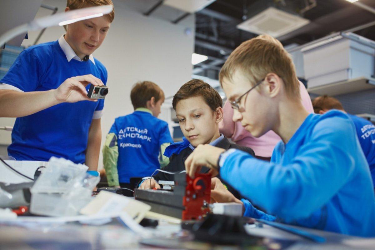 Детский технопарк «Кванториум» станет мобильным