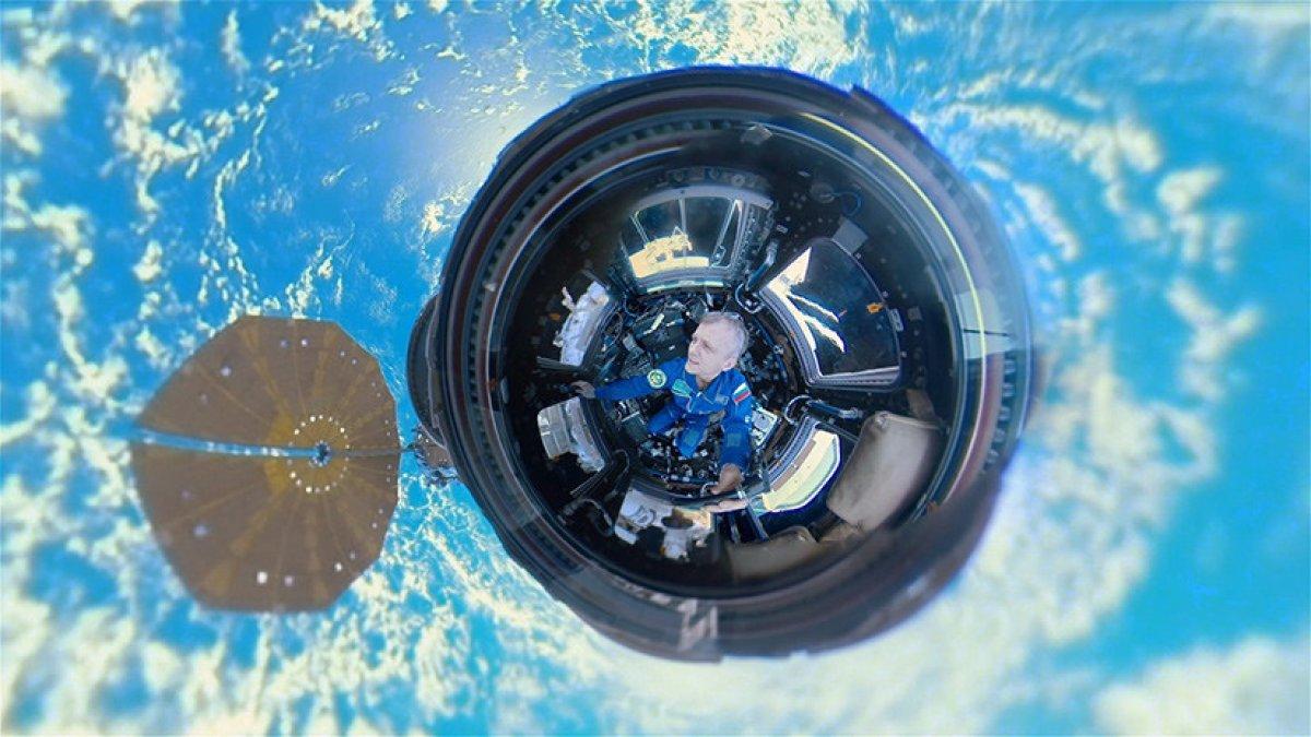 Снято первое панорамное видео в открытом космосе