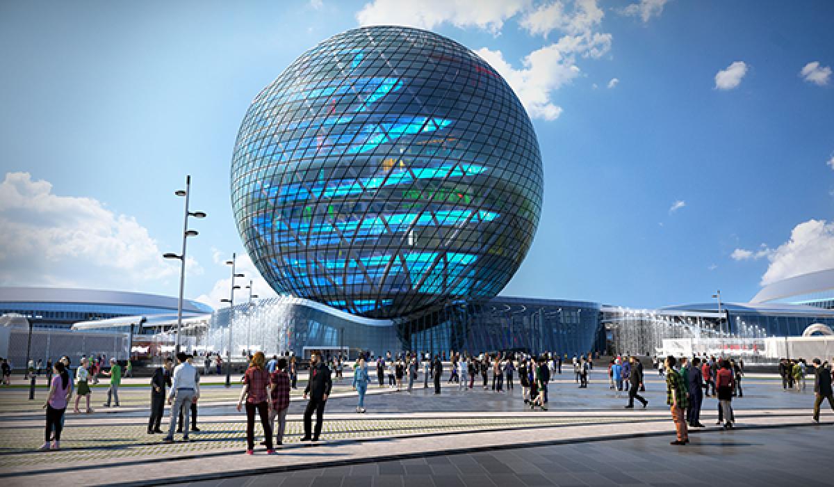 Россия собирается провести выставку ЭКСПО-2025 в Екатеринбурге