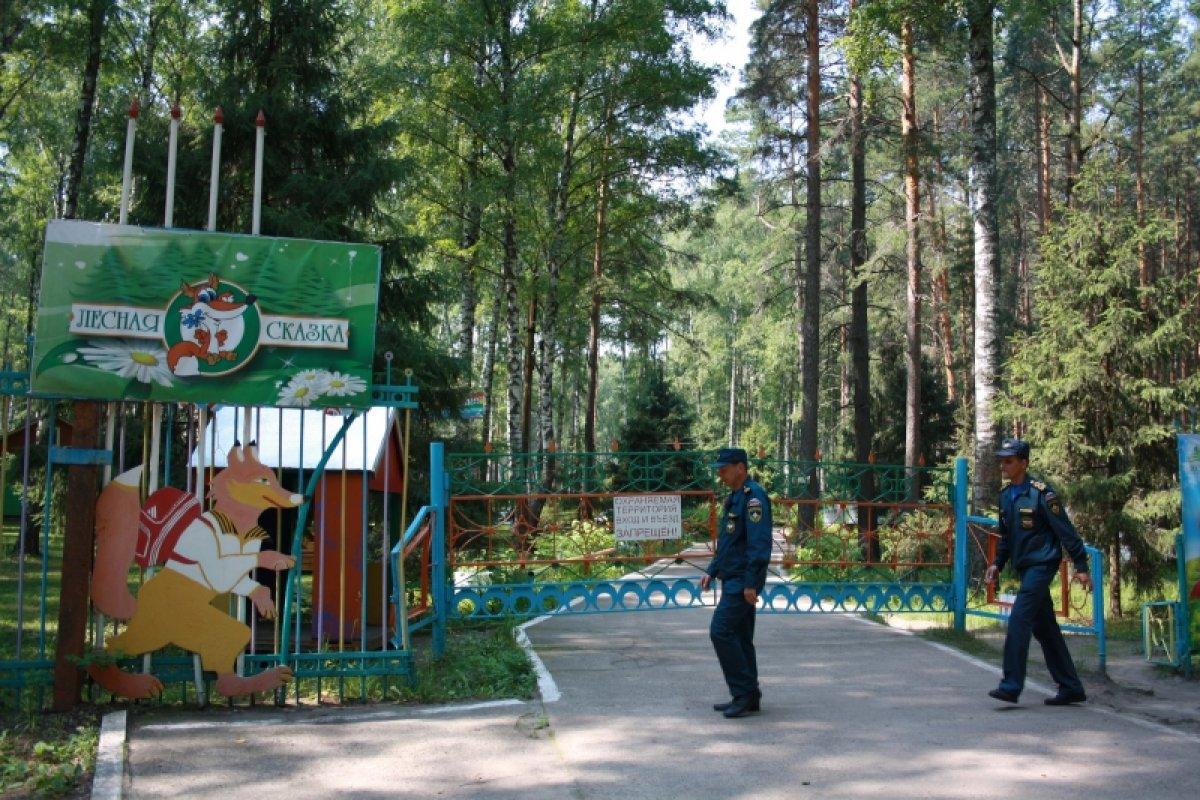 В Кузбассе из летнего оздоровительного лагеря эвакуировали 358 детей