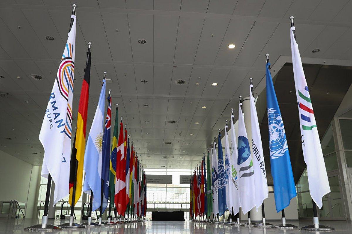 В немецком Гамбурге - саммит G20