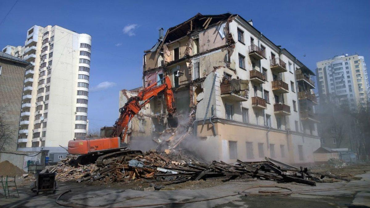 Под снос в Москве пойдут около 5 тысяч многоэтажек