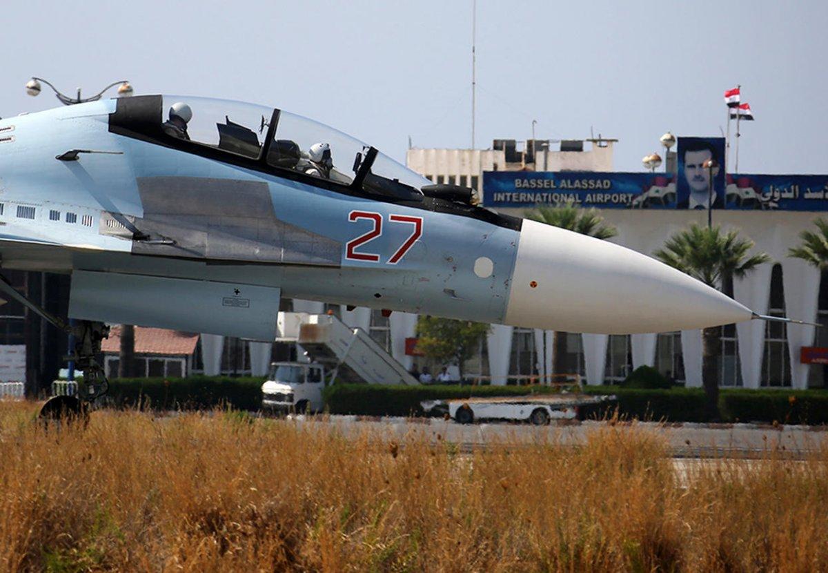 Российская авиагруппа может остаться в Сирии на 49 лет