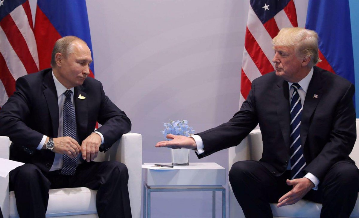 Путин и Трамп встретились