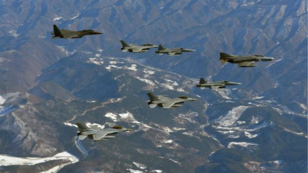 ВВС США и Республика Корея провели совместные военные учения