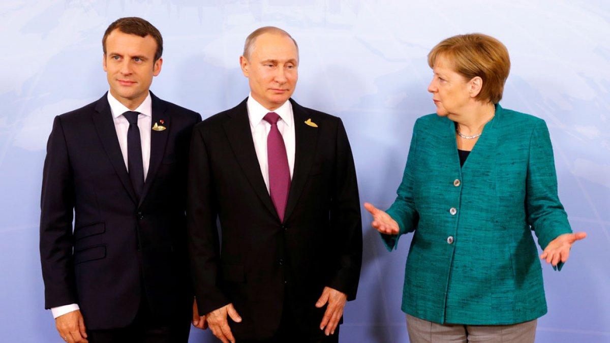 Россия, Германия и Франция - за прекращение огня
