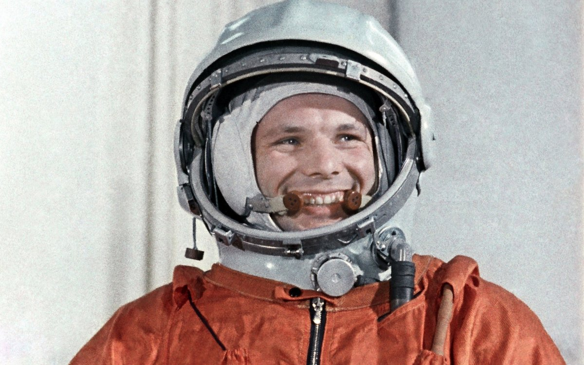 Бюст Юрия Гагарина установили на космодроме «Плесецк»
