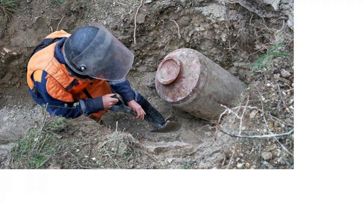 В Крыму уничтожили бомбу времен Второй мировой войны