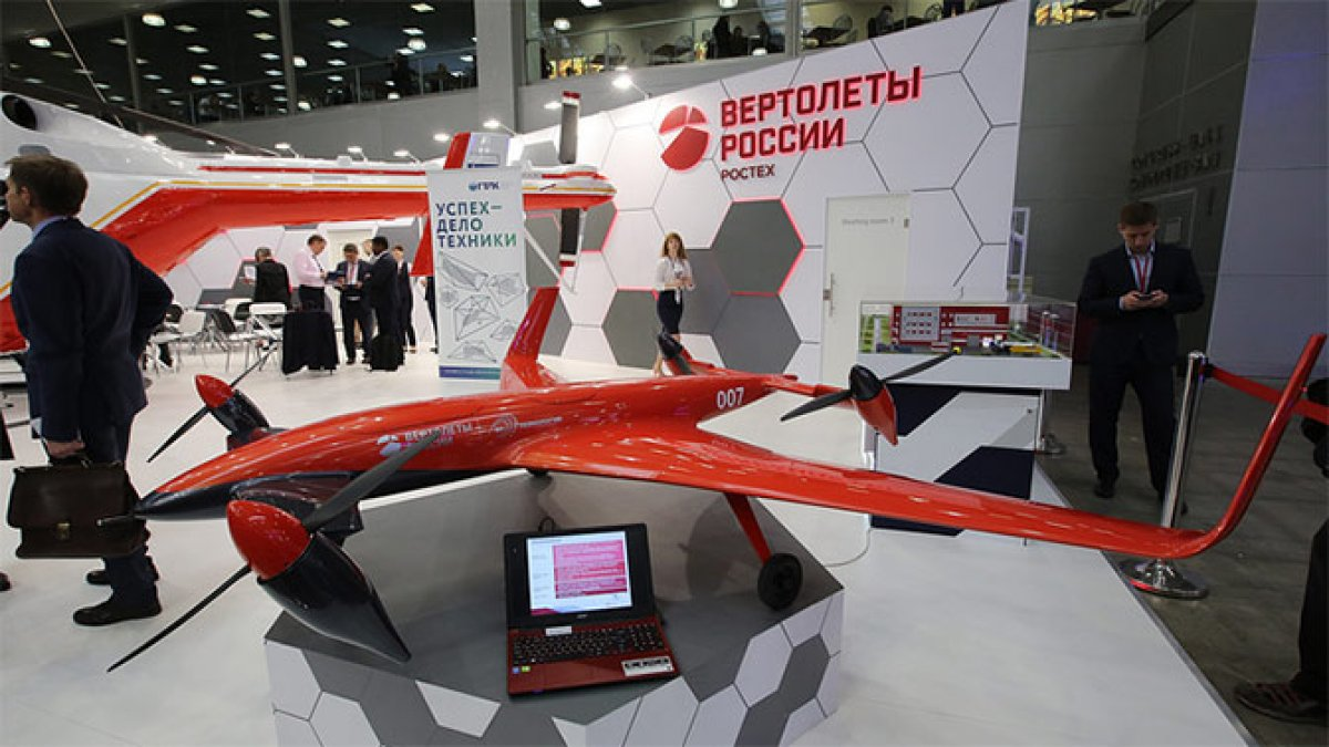На МАКС-2017 представили конвертоплан
