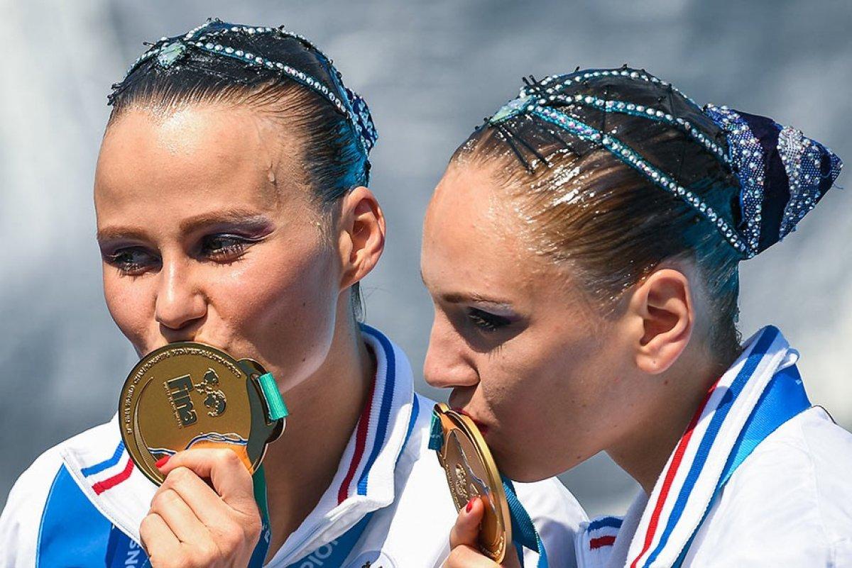 Российские синхронистки выиграли четвертое «золото» на Чемпионате мира