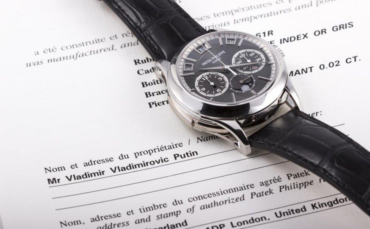 Продажу «часов Путина» назвали «удачной уловкой»