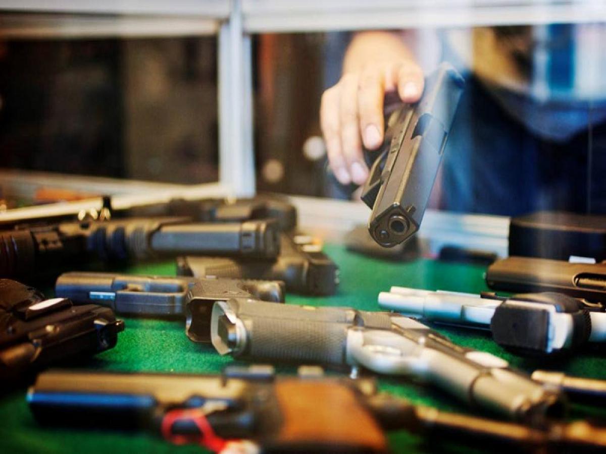 В России пересчитали владельцев оружия