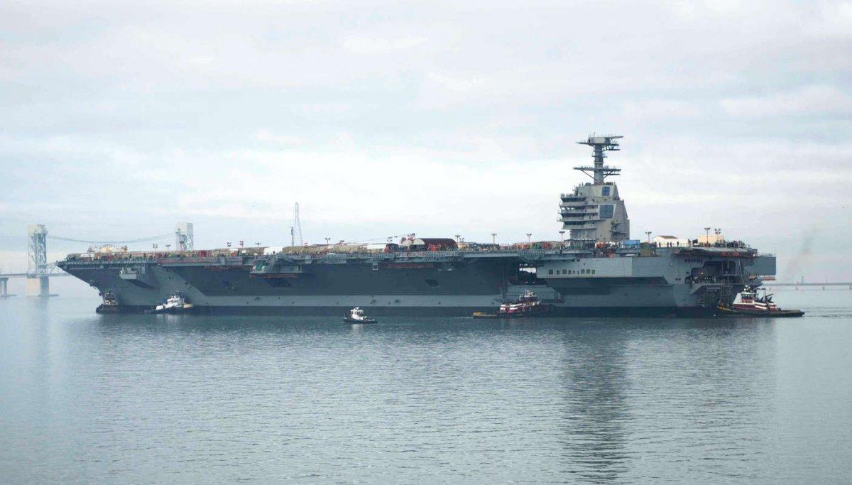 Самый большой авианосец – в боевом составе ВМС США