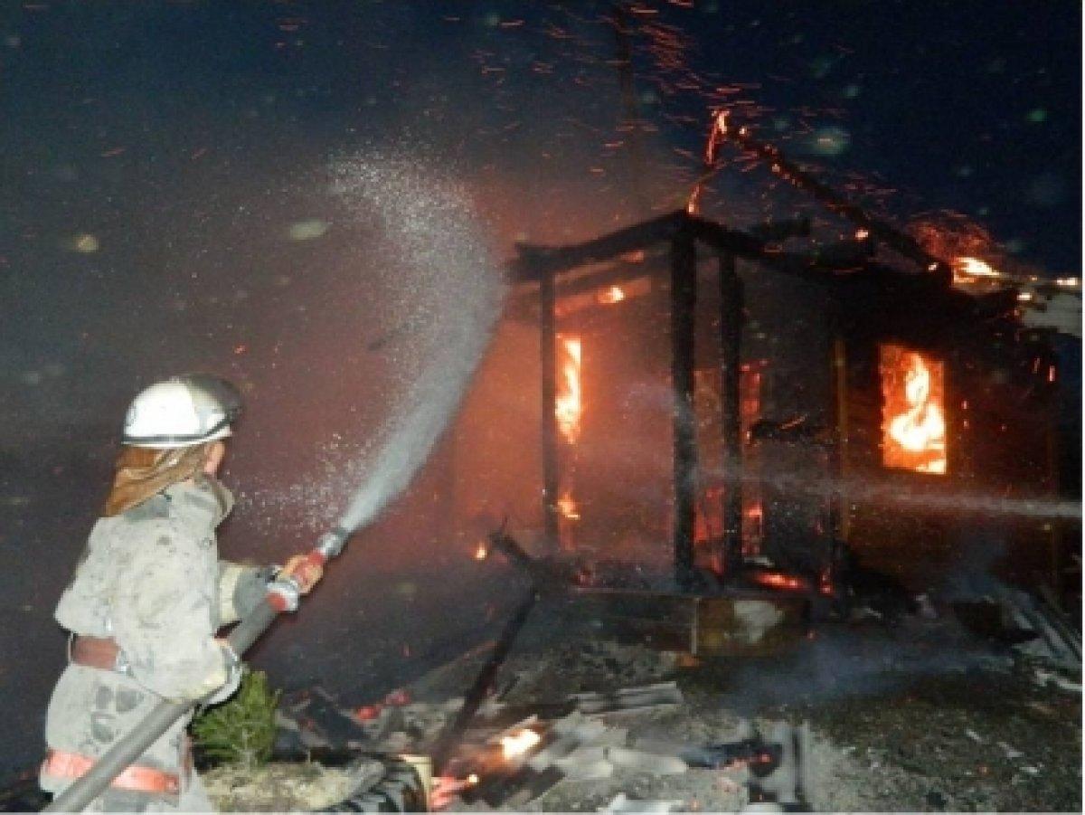 В Челябинской области в огне погибли дети