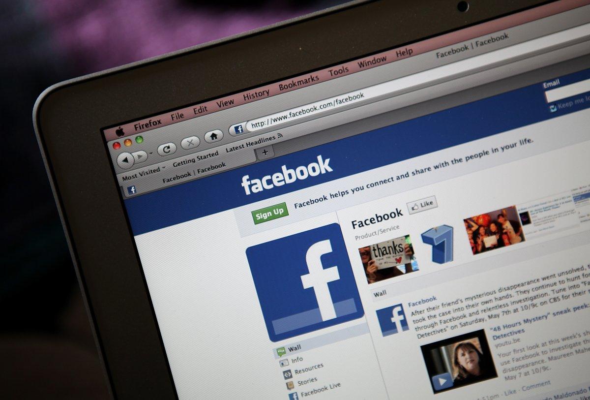Число пользователей Facebook достигло 2 млрд человек