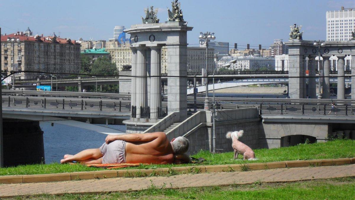 В Москве зафиксировали самый жаркий день с начала года
