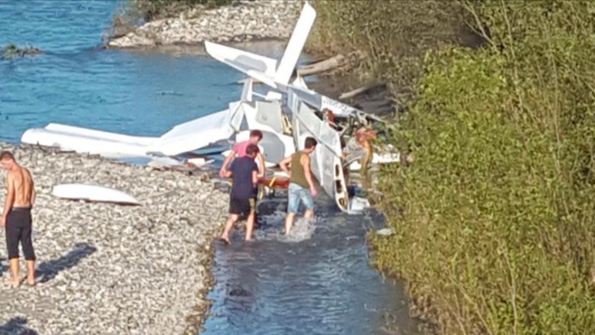Самолёт с российскими туристами разбился в Абхазии