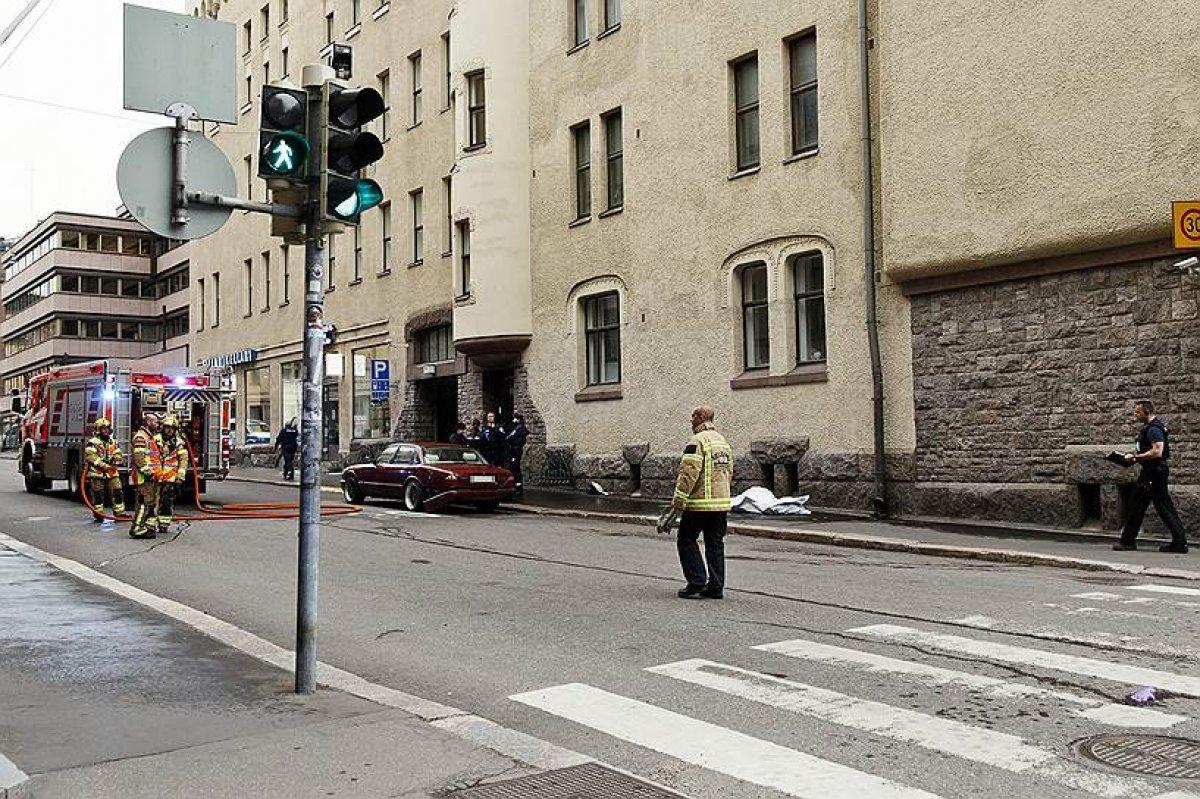 При наезде авто на толпу в Хельсинки пострадали россияне