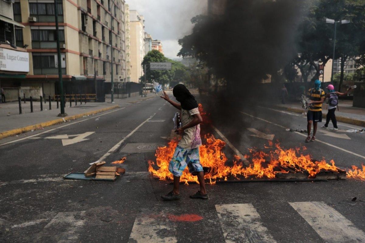 К поиску угнавших вертолёт в Венесуэле подключился спецназ