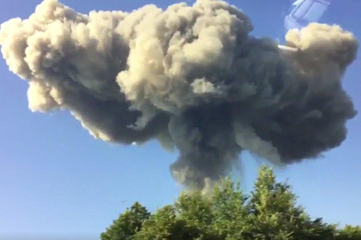 Во время взрывов на военном складе в Абхазии могли погибнуть туристы