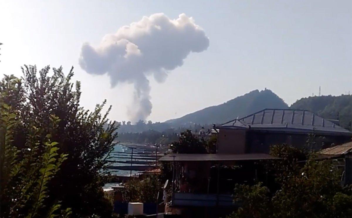 Погибшие от взрывов на военном складе Абхазии оказались туристками из России