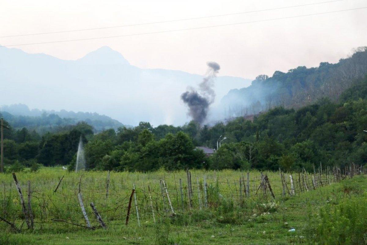64 человека пострадали после взрывов на складе боеприпасов в Абхазии