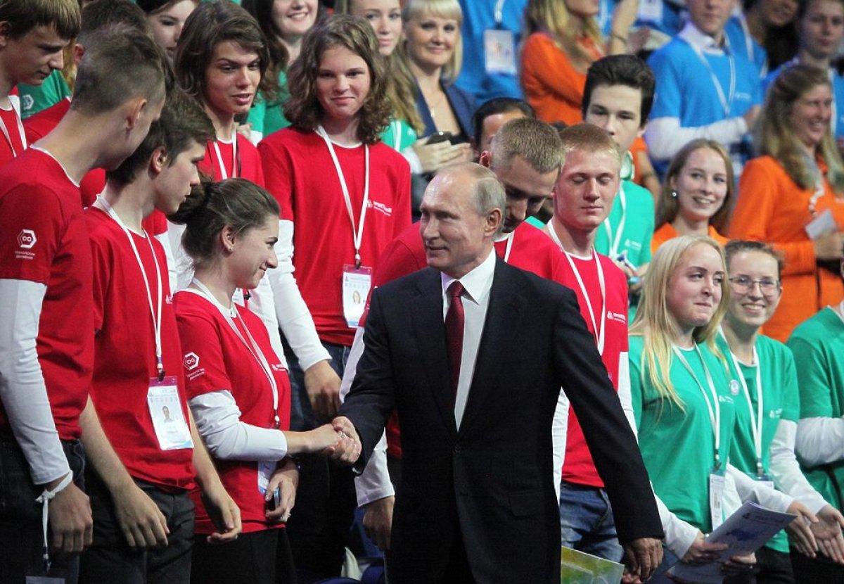 В Ярославле прошел открытый урок с президентом РФ
