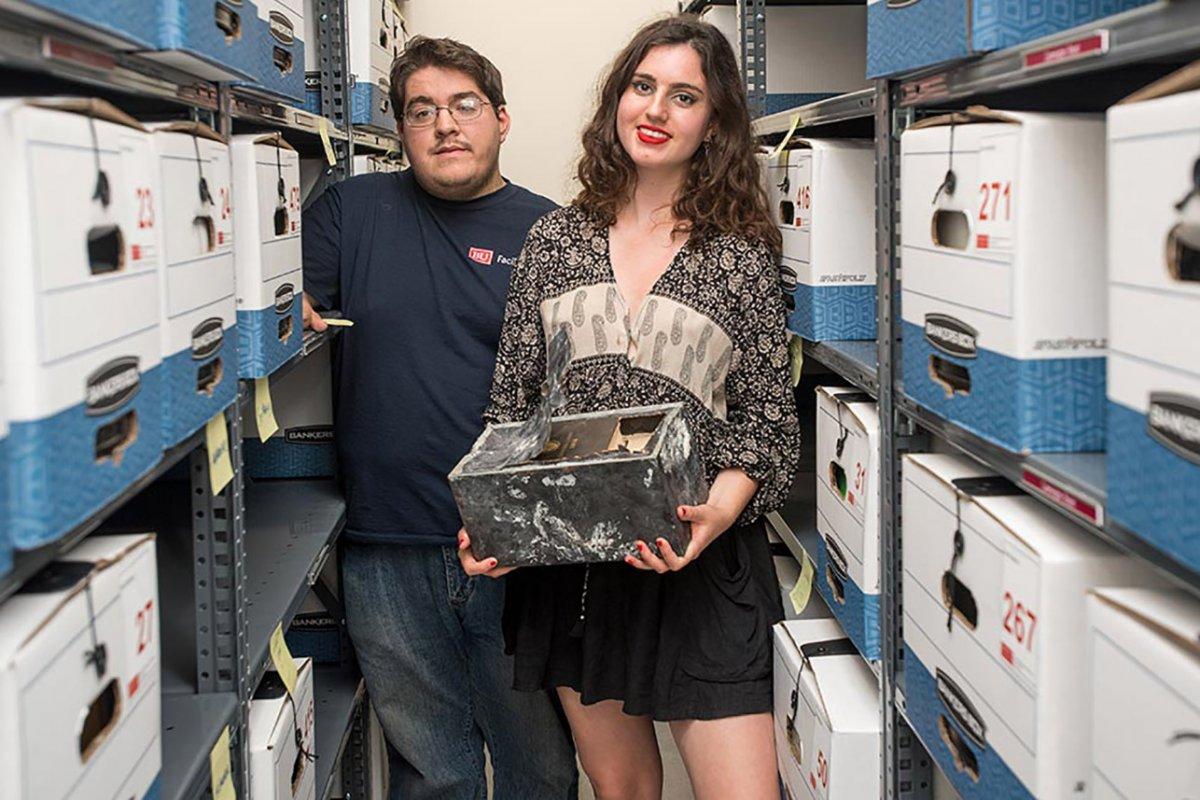 В Бостоне нашли 100-летнюю капсулу времени