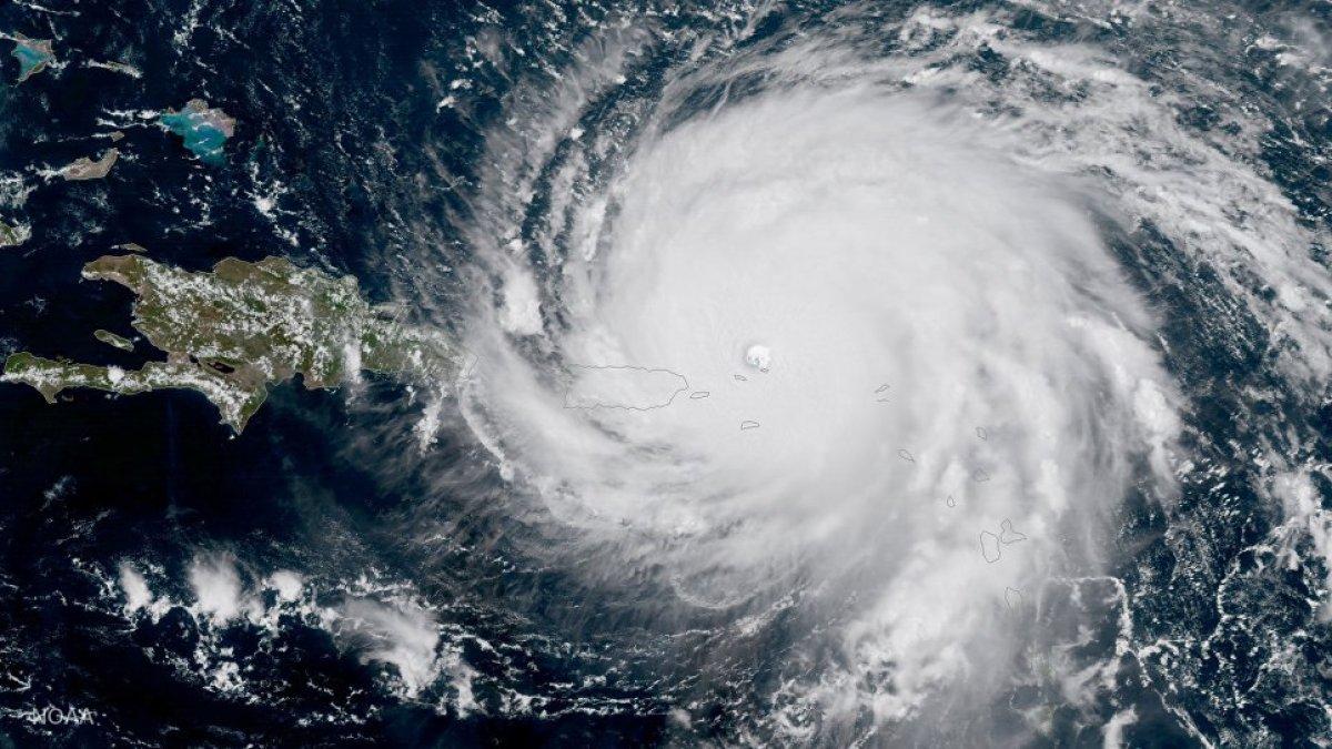 "Флориду настиг новый ураган ""Ирма"""