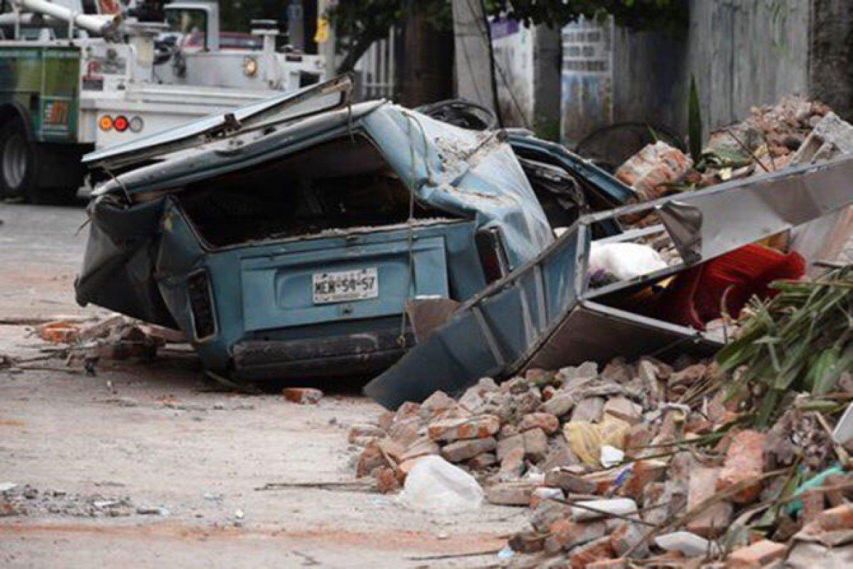 Названа причина катастрофического землетрясения в Мексике