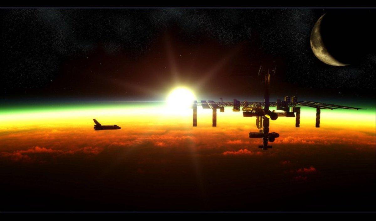 Космонавты на МКС укрылись от солнечной вспышки в бункере