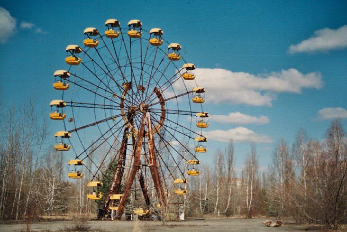 В Чернобыле ожила карусель