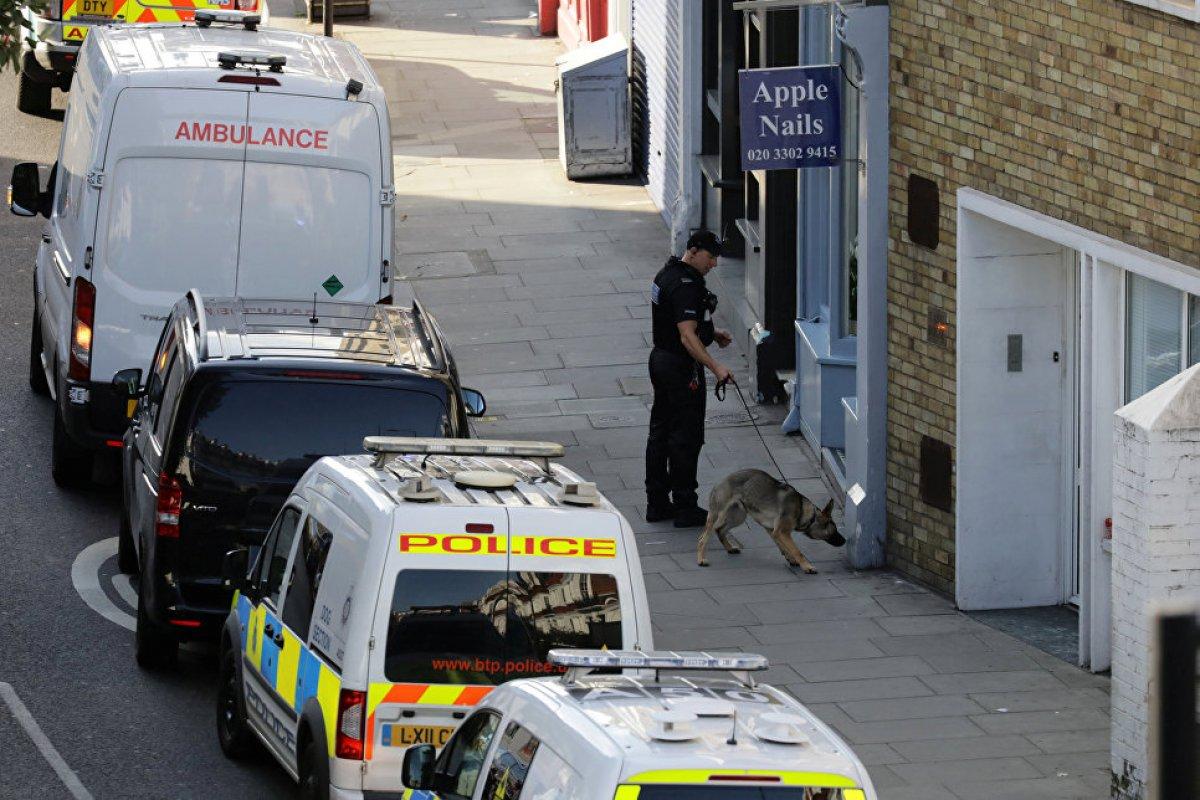 Бомба с гвоздями в лондонском метро
