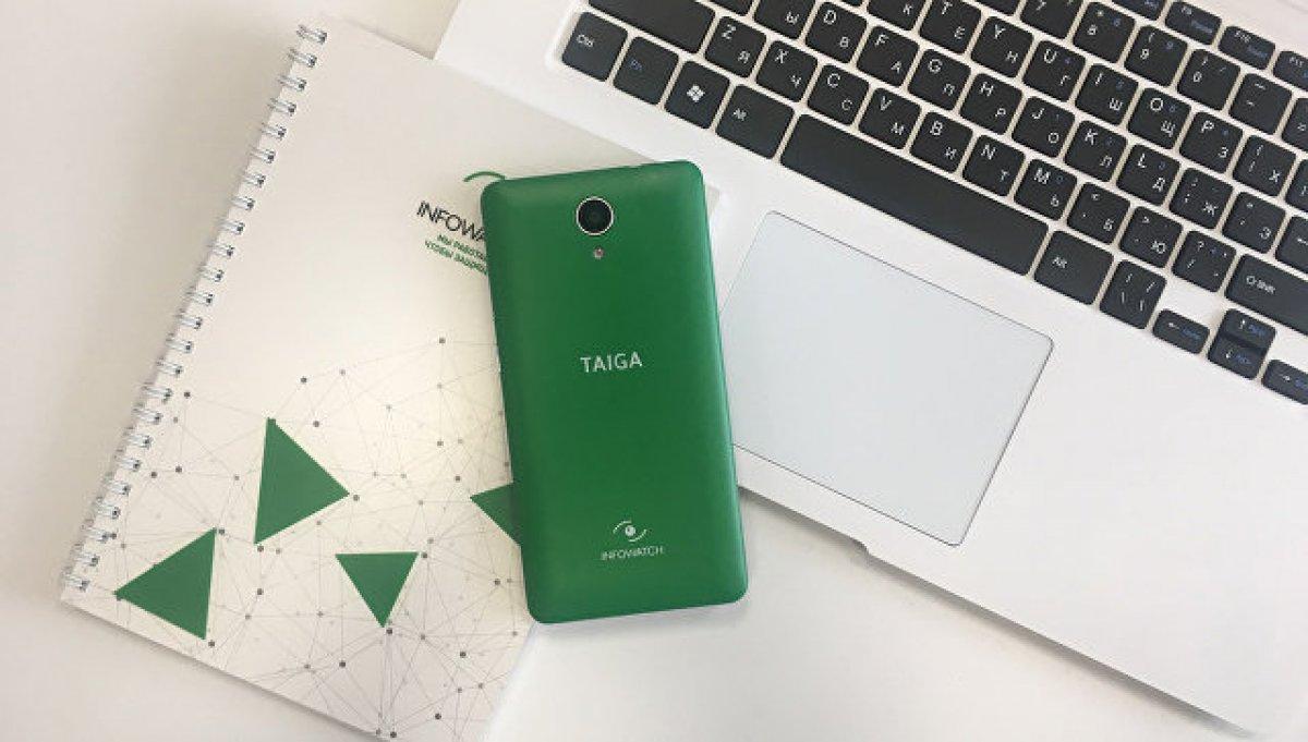 Российская компания InfoWatch представила смартфон «ТайгаФон»