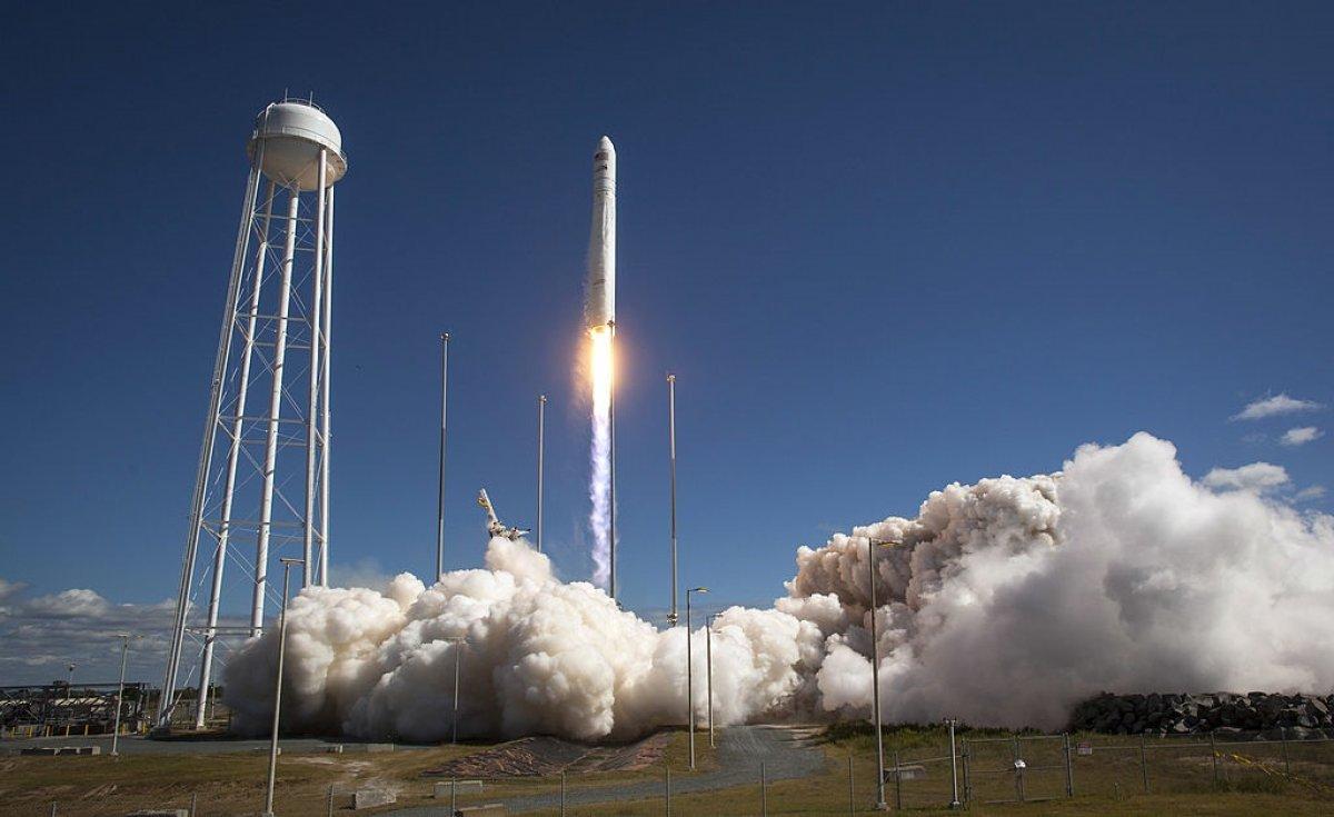 Стартовала ракета Atlas V со спутником
