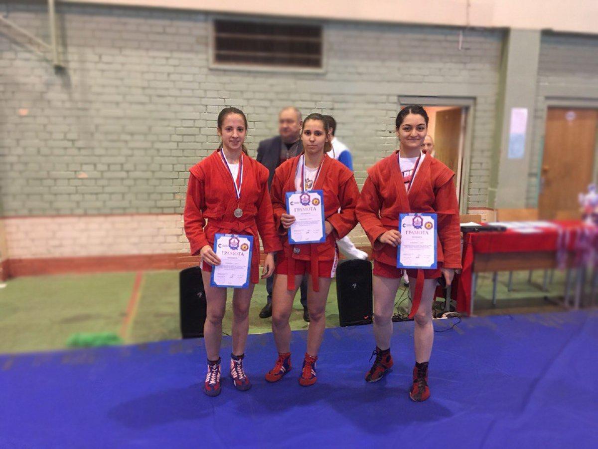 Прошел студенческий чемпионат Москвы по самбо