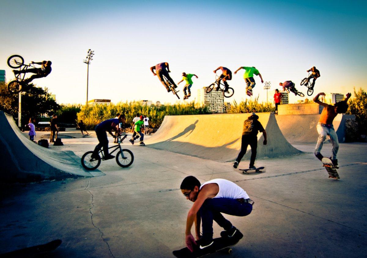 Десять скейт-парков построят в Подмосковье