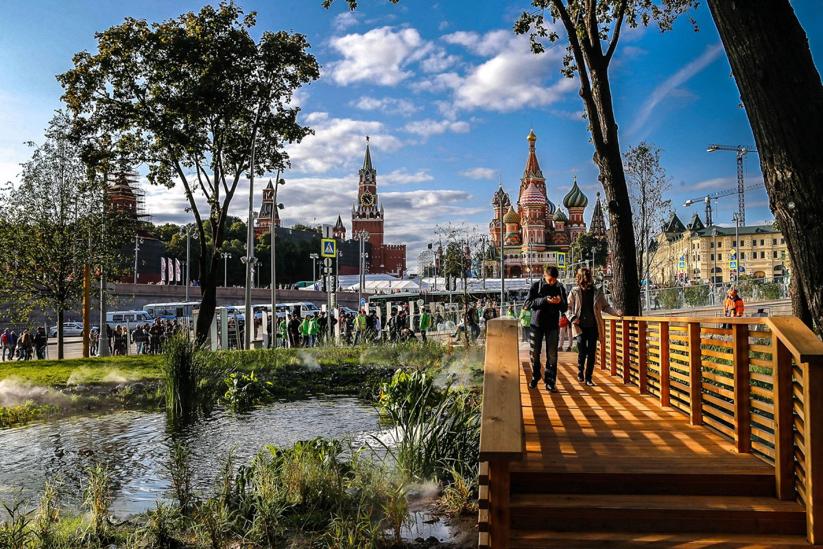 Парк «Зарядье» номинирован на премию ArchDaily