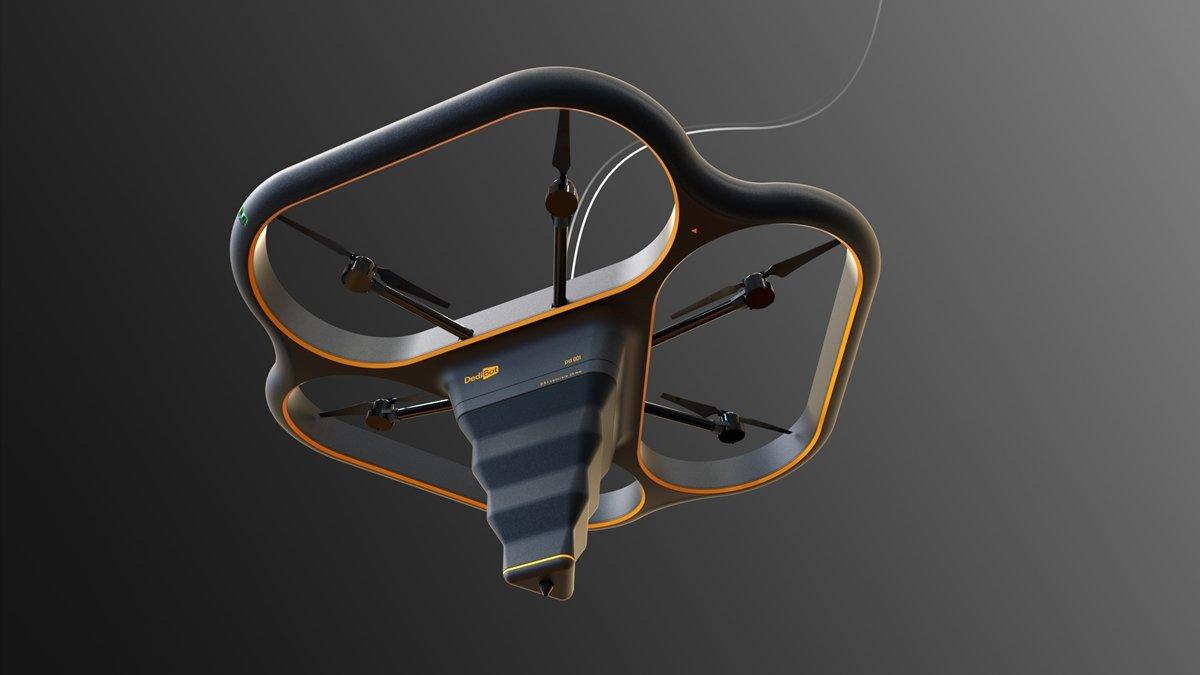 «Летающий слон»: в Китае представили строительный 3D-принтер