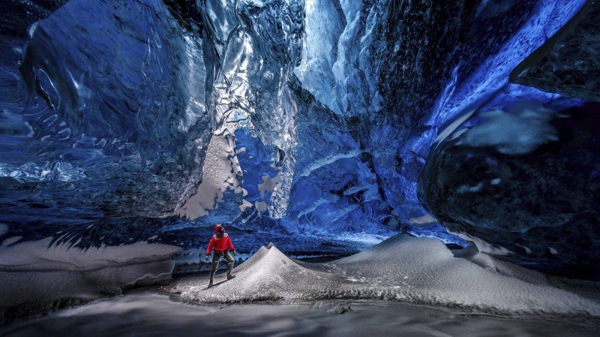 В парке «Зарядье» появится Ледяная пещера