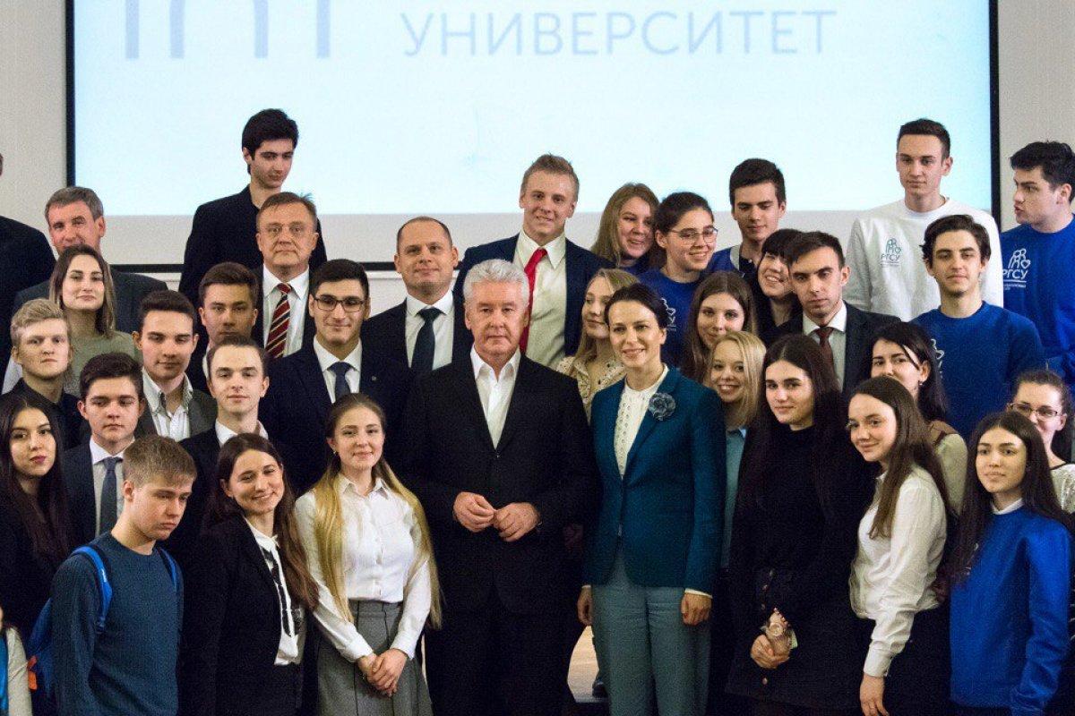 Сергей Собянин приехал с лекцией о развитии города к студентам РГСУ