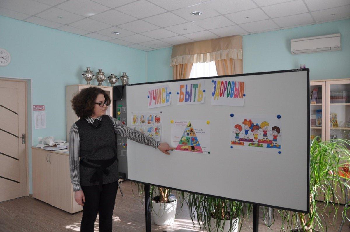 В Москве прошел открытый урок, посвященный здоровому образу жизни