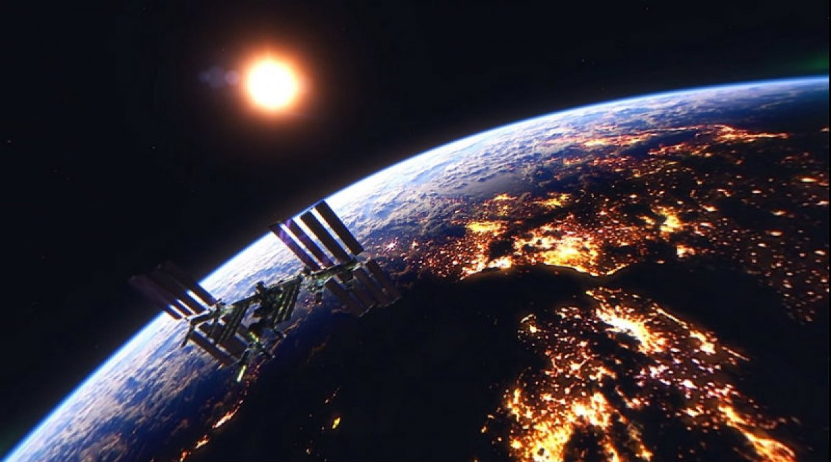 Жители России смогут наблюдать пролет МКС невооруженным глазом