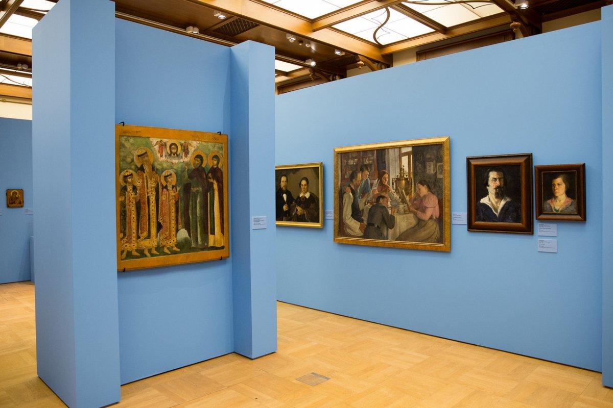 В «Царицыно» открылась выставка «Семья – душа России»