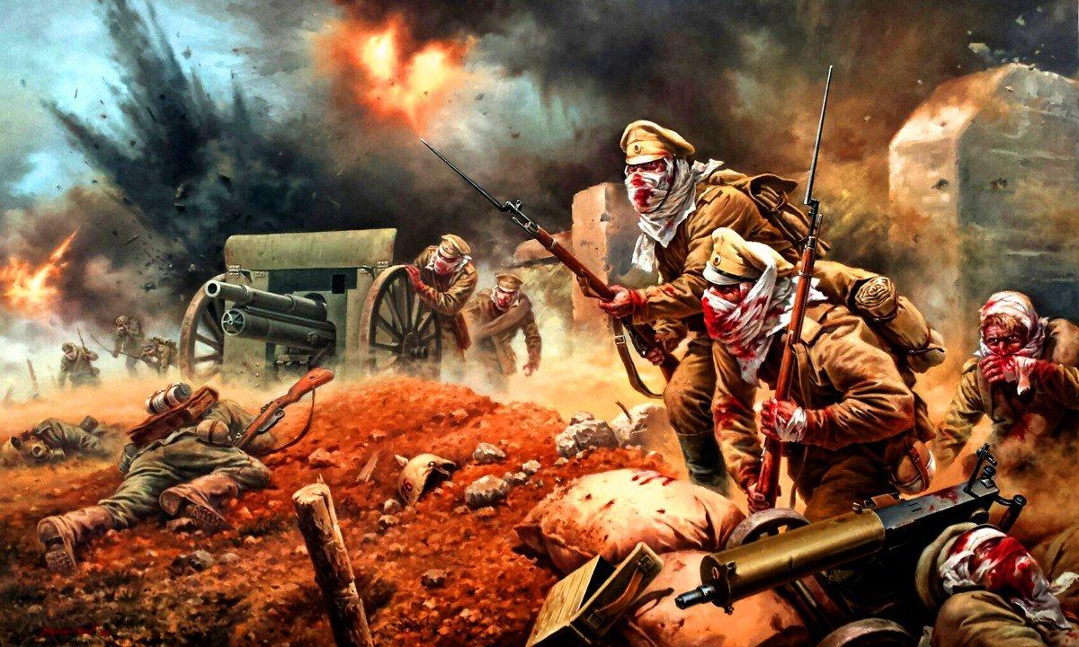 «Атака мертвецов»: 103 года с самого жуткого сражения Первой мировой войны