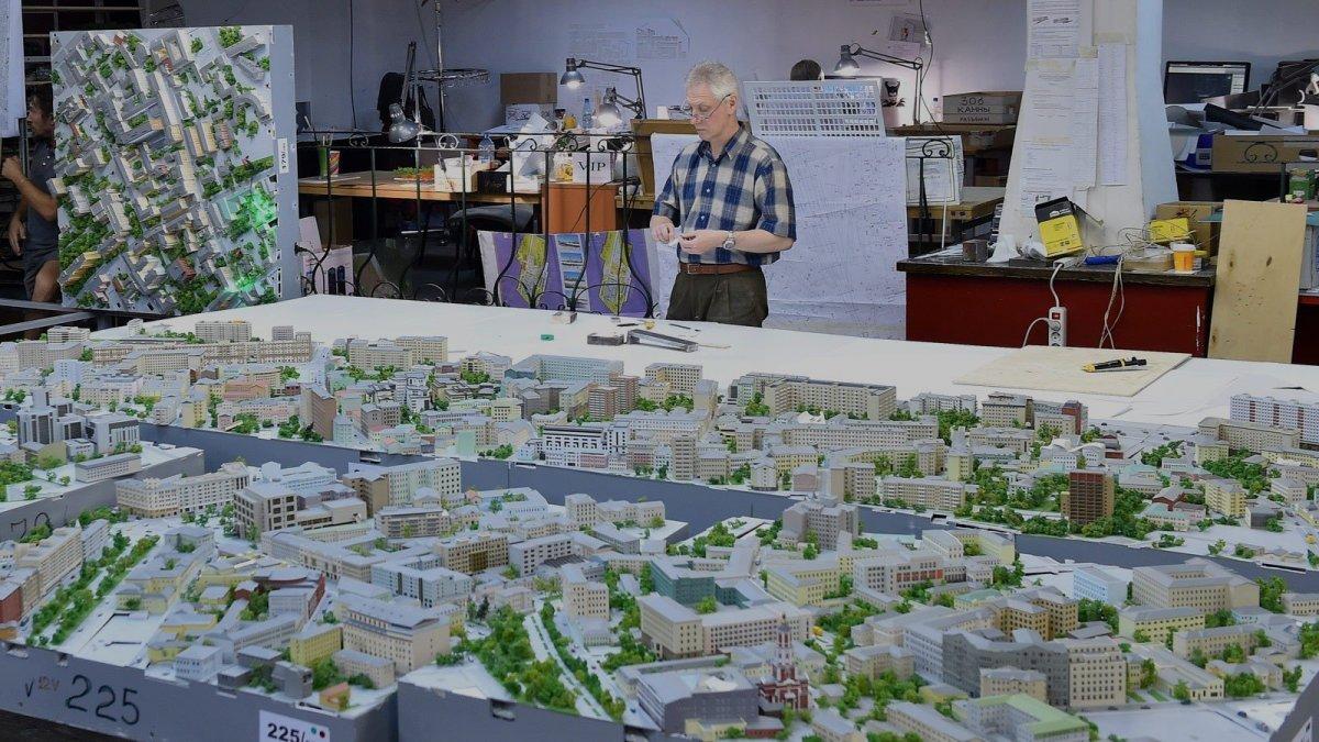 В павильоне «Макет Москвы» на ВДНХ покажут историю города