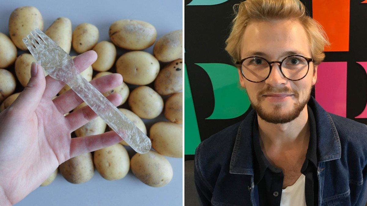 Как создать пластик из картофеля?