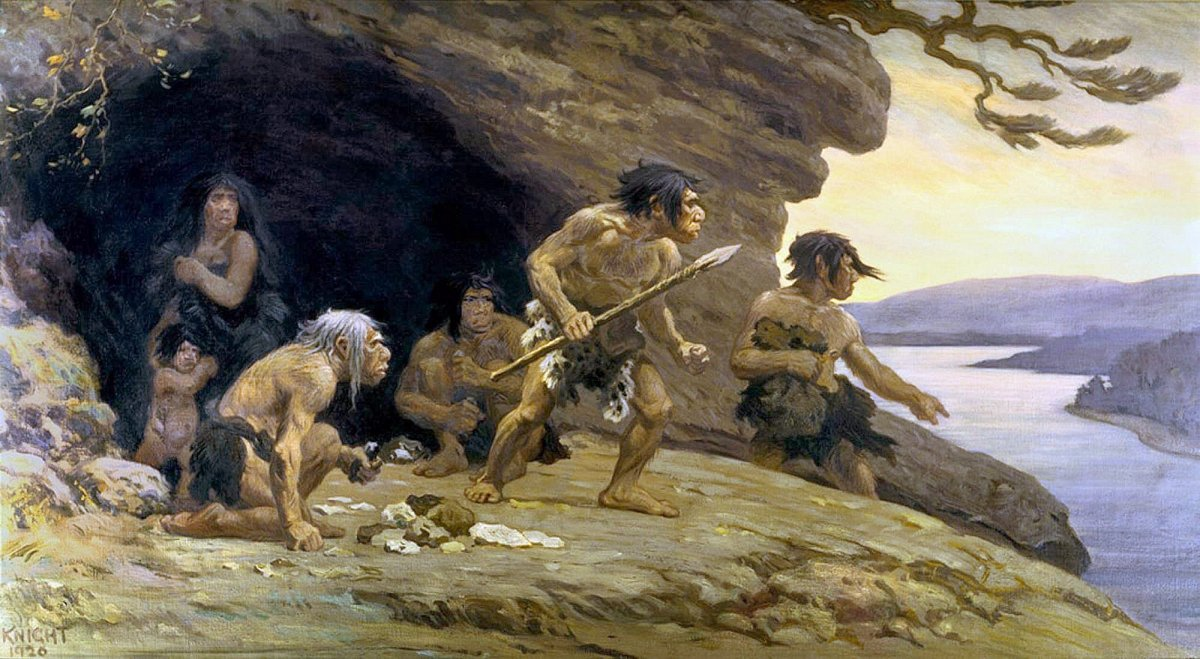 Неандертальцы получали столько же травм, сколько и homo sapiens